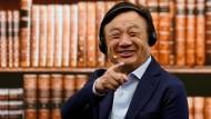 Wie viel Huawei-Gründer Ren Zhengfei nach Verkündung der Quartalszahlen wohl noch zu lachen haben wird?