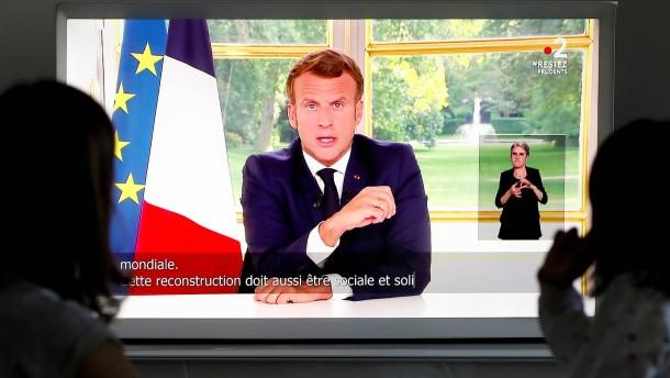 Emmanuel Macron kündigt neue Lockerungen an
