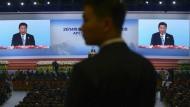 Chinas Präsident will mehr Freihandel