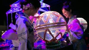 Kunst im Goldfischglas