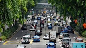 Singapur will eine Obergrenze für Autos