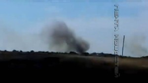 Mögliche Beweise für russische Artillerie-Angriffe
