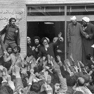 Umjubelter Heimkehrer: Chomeini im Februar 1979 in Teheran