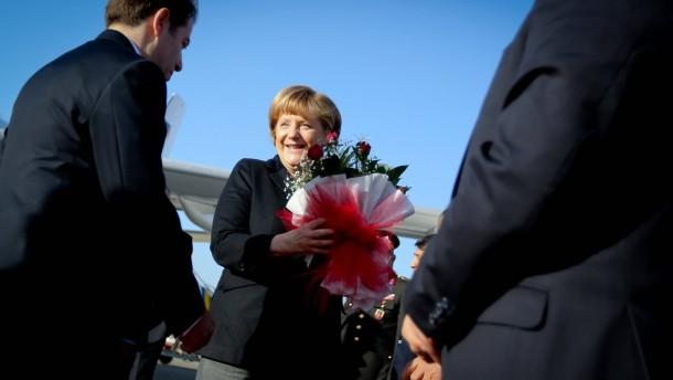Merkel besucht Patriot-Truppen
