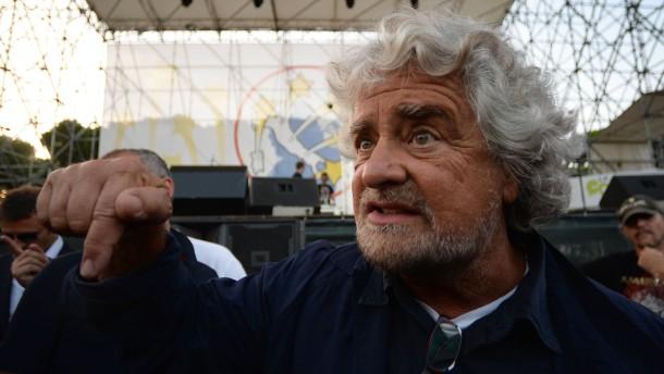 Italienische Parteien fordern Euro-Austritt