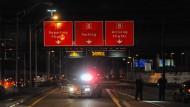 Berichte über Schüsse im Terminal