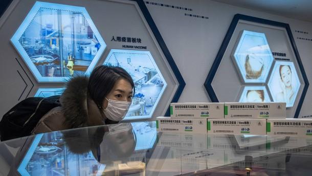China macht mit digitalem Impfpass Druck