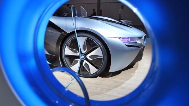 Automobilmesse AMI - BMW i8 Concept
