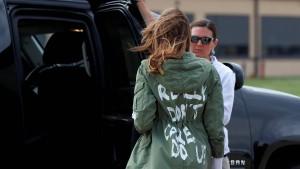 Was genau ist Melania Trump egal?