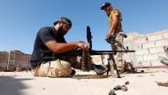 Libysche Truppen kämpfen weiter gegen IS um Sirte