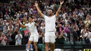 Kolumbianer gewinnen Doppel-Krimi in Wimbledon
