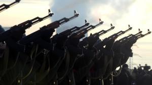 Russische Rüstungsunternehmen machen Kasse