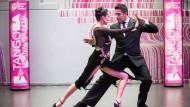 Tango-Tänzer kämpfen in Buenos Aires um den Weltmeister-Titel
