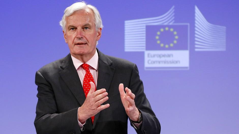 Michel Barnier im Juli 2013. Damals war er EU-Kommissar für den Binnenmarkt.