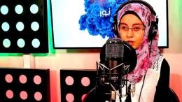 Blindes Mädchen wird Radiostar