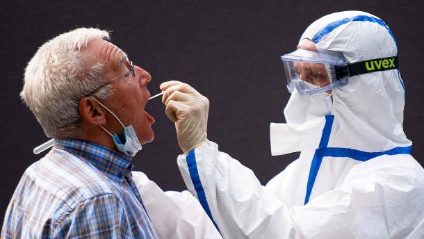 1226 Coronavirus-Neuinfektionen an einem Tag