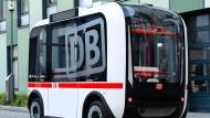 Deutsche Bahn testen autonomes Fahren