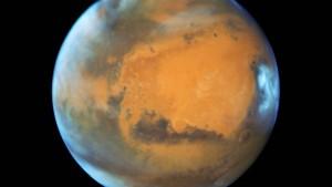 Gewaltige Flutwellen auf dem Mars?