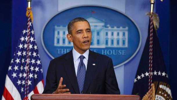 Obama macht keine Zugeständnisse