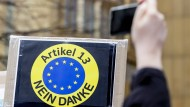 Vor allem Jugendliche protestieren europaweit gegen den Artikel 13