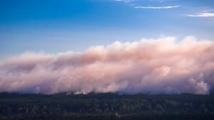 Waldbrand in Mecklenburg-Vorpommern weitet sich aus