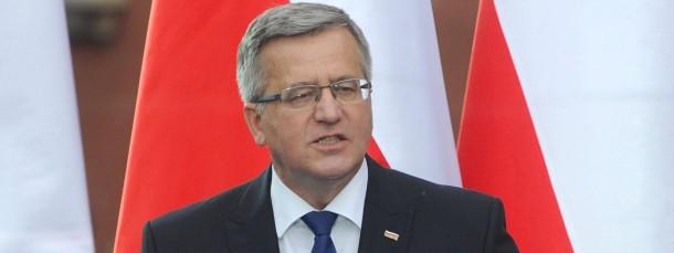 Polens Präsident Bronislaw Komorowski
