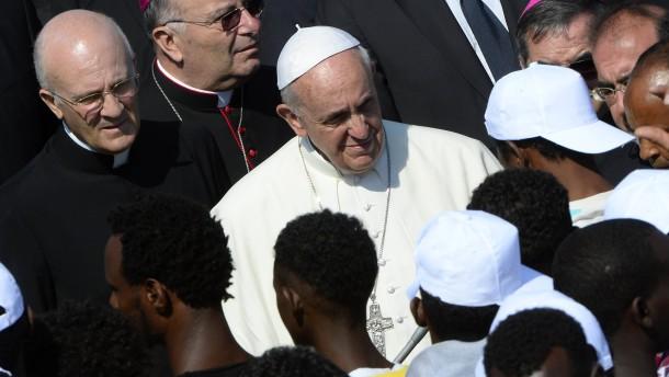 Papst Franziskus Lampedusa Flüchtlinge