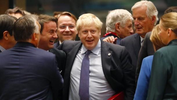 """Johnson ruft Parlament auf, """"diese Sache durchzuziehen"""""""