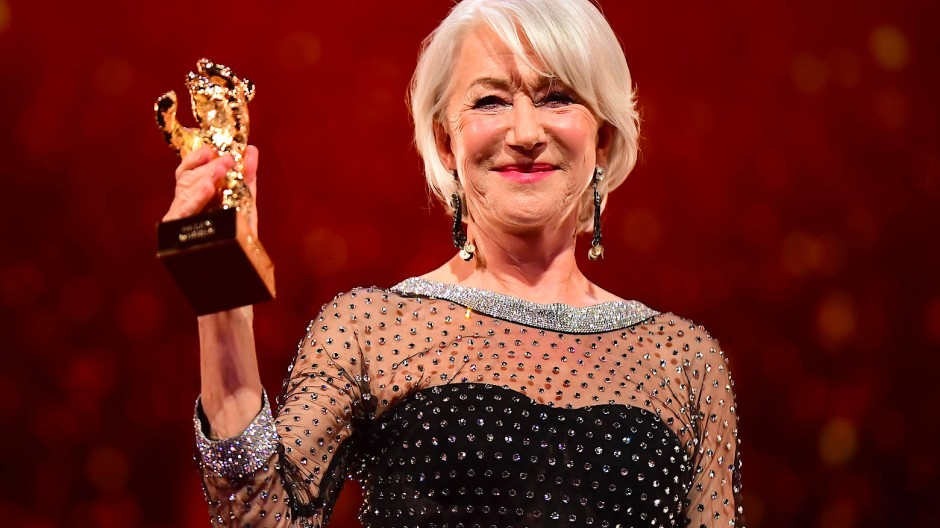 Goldener Ehrenbär für Dame Helen Mirren