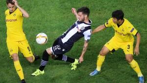 Dortmund glückt nur ein Remis