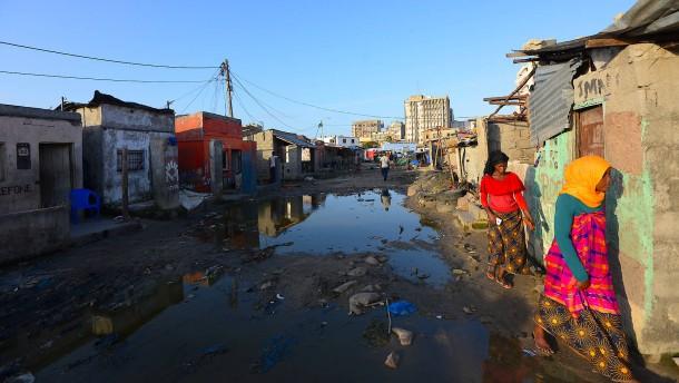 Tropische Depression in Moçambique