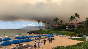 Rauchwolken über Hawaii