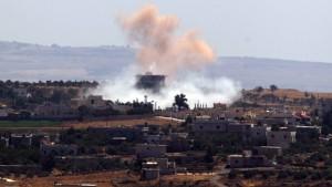 Syrien droht bei Intervention mit Chemiewaffen-Einsatz
