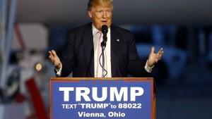Hacker veröffentlichen private Daten von Trump