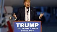 Viele Stimmen, viele Feinde: Präsidentschaftsbewerber Donald Trump
