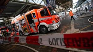 Kabelbrand legt Hauptbahnhof den ganzen Tag lahm