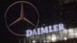 Daimler schließt Milliarden-Vergleiche in Amerika