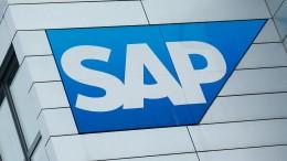SAP-Geschäfte laufen rund
