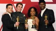 Der Rockstar (Rami Malek), die frustrierte Königin (Olivia Colman), die kämpferische Mutter (Regina King) und der Jazz-Pianist (Mahershala Ali): die besten Haupt- und Nebendarsteller der Oscars 2019