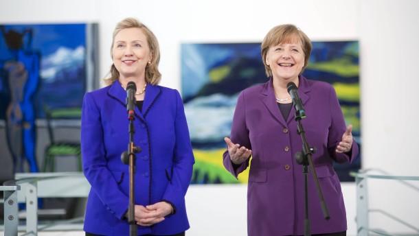 Das bedeutet Clinton oder Trump für Deutschland