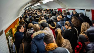 Frankreich erstarrt im großen Streik