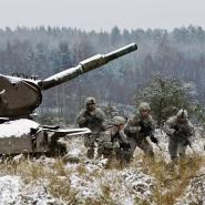 Soldaten bei der Übung: In 48 Stunden abmarschbereit