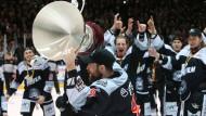 Eishockey: Auf- und Abstieg weiter aufgeschoben