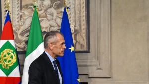 In Italien beginnt eine neue Epoche