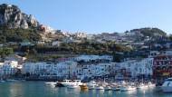"""Vor Capri heirateten Heidi Klum und Tom Kaulitz auf der Yacht """"Christina O"""""""