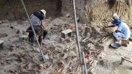 Über 230 Skelette entdeckt