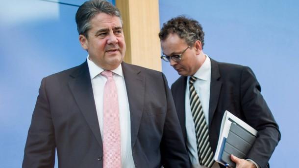 Gabriel rechnet mit Merkel und Schäuble ab