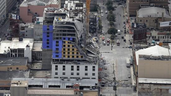 Geplantes Hard-Rock-Hotel eingestürzt