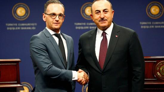 Maas trifft auf Außenminister der Türkei