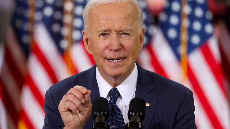 Der amerikanische Präsident Joe Biden hat ein massives Investitionsprogramm angekündigt.